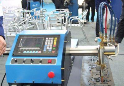 Gantry Type Dobbeldreven CNC Flame Plasma Cutting Machine i salg