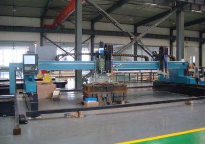 CNC gantry plasma flamme skjære maskin for jern metallplate