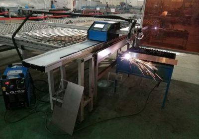 Bærbar CNC 100A Plasma Cutting Machine for 1-15mm Iron Sheet