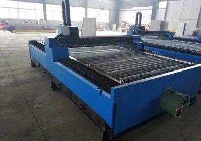 CNC oksygen gass luft inverter bærbar CNC flamme / plasma skjære maskin