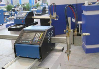 Både metallplater og metallrør CNC-skjæringsmaskin, med både plasmaskjæring og oksygenbrenselskjæringslampe