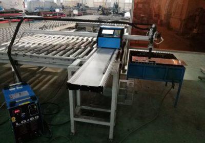 CNC bærbar plasma / flamme skjære maskin for å kutte aluminium