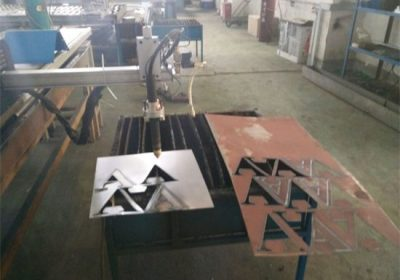 Cnc plasma cutter / kvadratrør rund stålrør cnc plasma skjære maskin